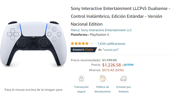 Amazon Prime Day trae de vuelta al PS5 hasta un precio bajo histórico 3