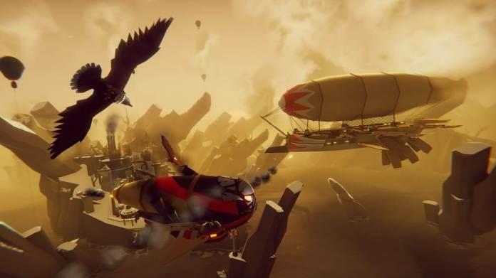 The Falconeer: El Galardonado juego ya se encuentra disponible en Amazon Luna 5