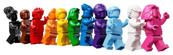 LEGO: El set Everyone Is Awesome LGBTQ+ ya está a la venta 1