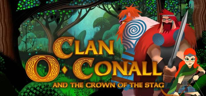 Clan O'Conall and the Crown of the Stag Se une a los finalistas de Nordic Game Discovery Contest.