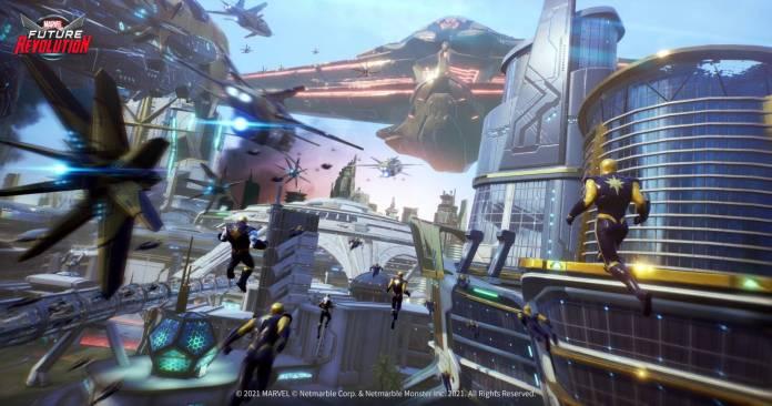 Marvel Future Revolution ya ha abierto su registro para que lo puedas jugar 7