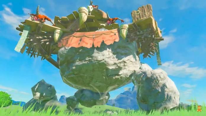 E3 2021: Se muestra un nuevo avance de The Legend of Zelda Breath of the Wild 2 3