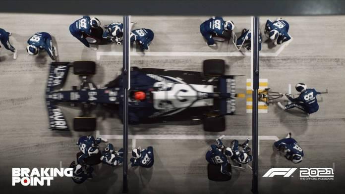 F1 2021 muestra los primeros detalles de Breaking Point 10
