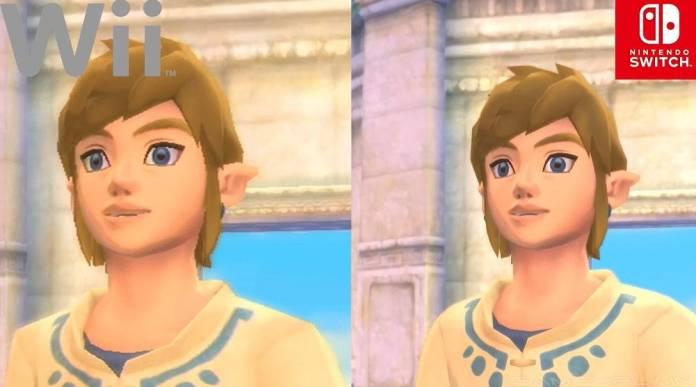 The Legend of Zelda Skyward Sword HD: Video nos muestra la diferencia entre las versión de de Wii y la de Nintendo Switch.