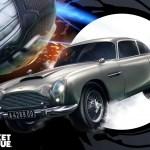 Rocket League, Aston Martin, James Bond, 007