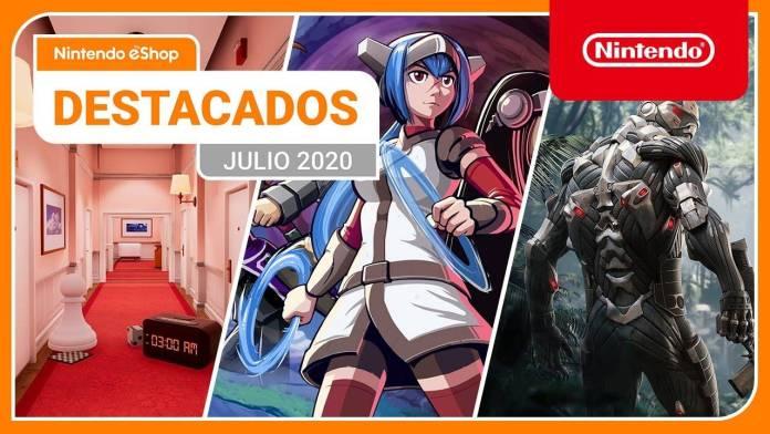 Estas son las novedades de la Nintendo eShop de este mes de Julio 2021