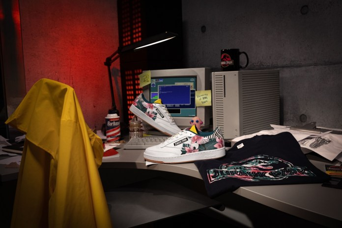 Reebok and Jurassic Park Announce Tremendous Collaboration 3
