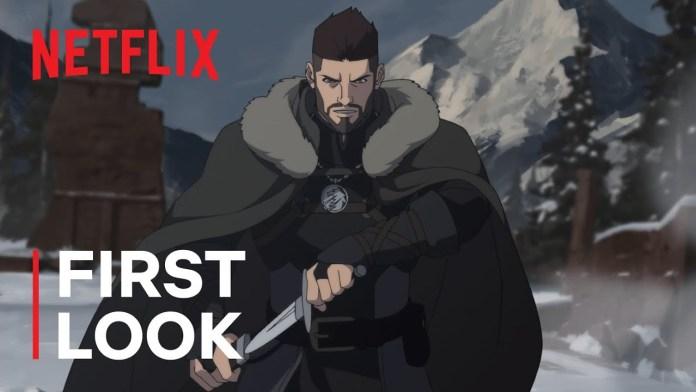 "Netflix presenta en primer tráiler de ""The Witcher: Nightmare of the Wolf"", así luce Vesermir el mentor de Geralt."