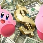 Kirby, dinero, money, dolares