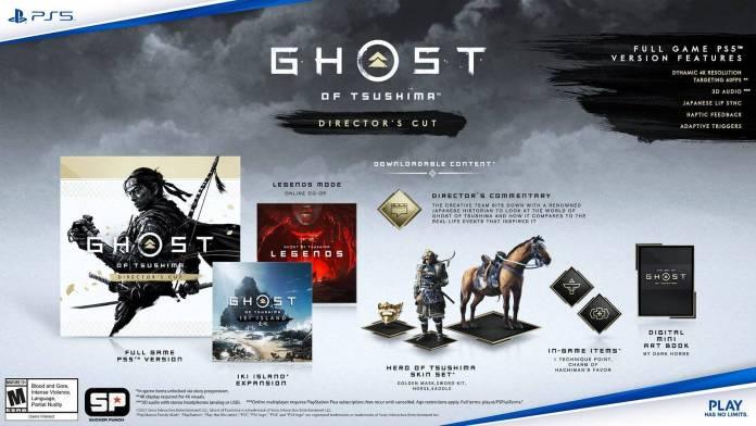 Ghost Of Tsushima Director's Cut: Nos muestra las mejoras para PlayStation 5 y la nueva expansión 1