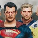 Superman, Saitama, Homelander y Omni-Man