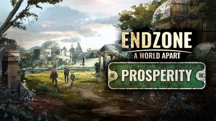 """El galardonado City-Builder Endzone A World Apart anuncia la fecha de lanzamiento de su expansión """"Prosperity"""""""