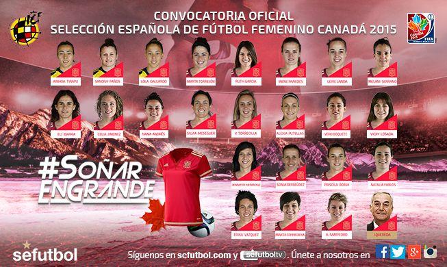 Selección de futbol femenino españa