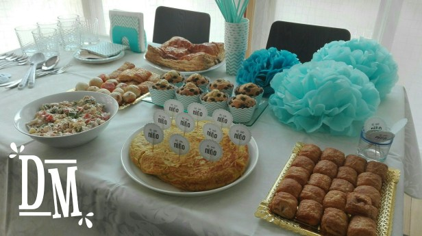 ideas para una baby shower