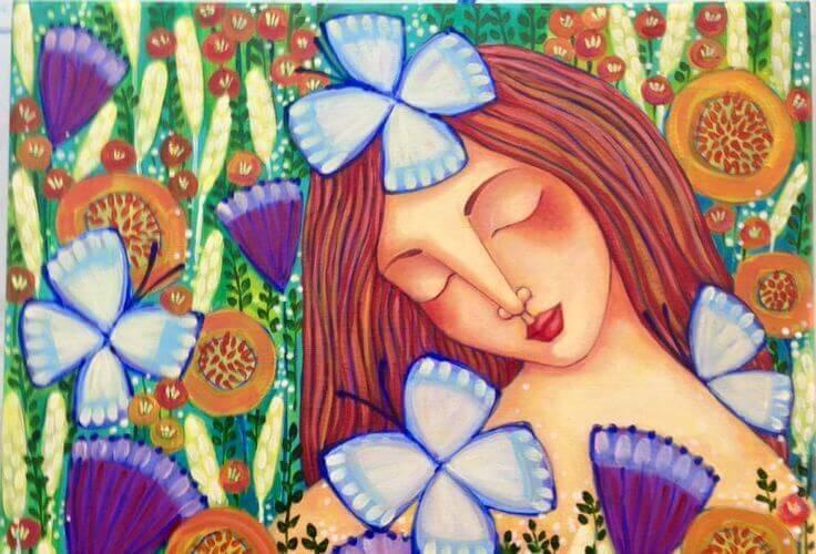 ilustracion-flores-mujer