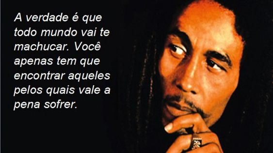 Frases do Bob Marley