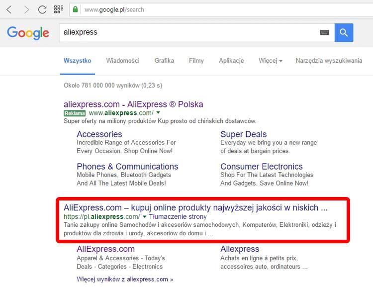 aliexpress-pl-w-wynikach-google-nospoon-pl