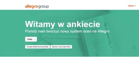 System ocen i komentarzy na Allegro - ankieta - NoSpoon.pl