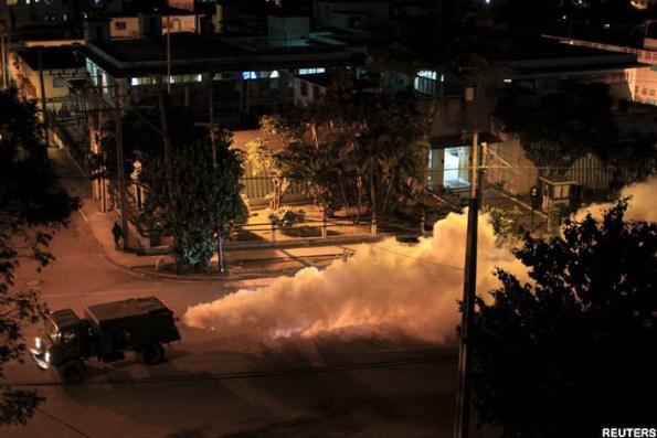 Reuters truck Zika Spraying
