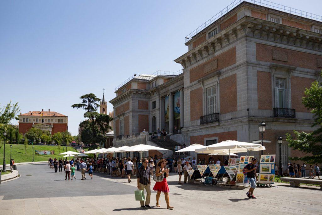 Madri com criança Museu do Prado