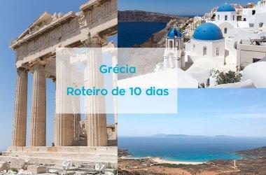 Roteiro Grécia 10 dias Santorini Mykonos Ios Atenas