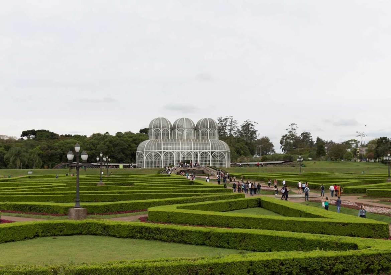 O que  fazer jardim botanico Curitiba parques