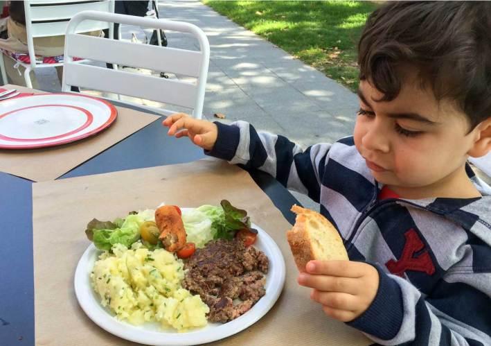 mães alimentação saudável para crianças