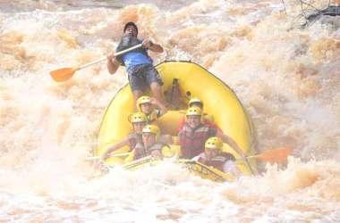 Rafting em brotas viagem perto de São Paulo viagens com filhos