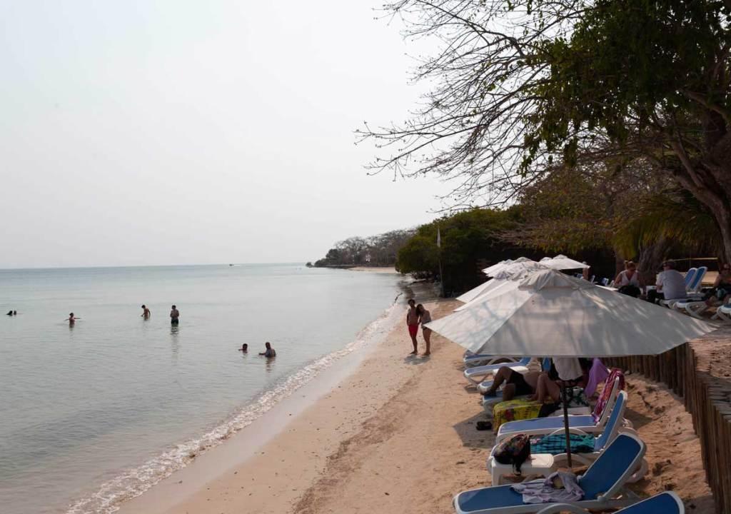 O que fazer em Cartagena Colombia Islas del Rosario Isla del Encanto