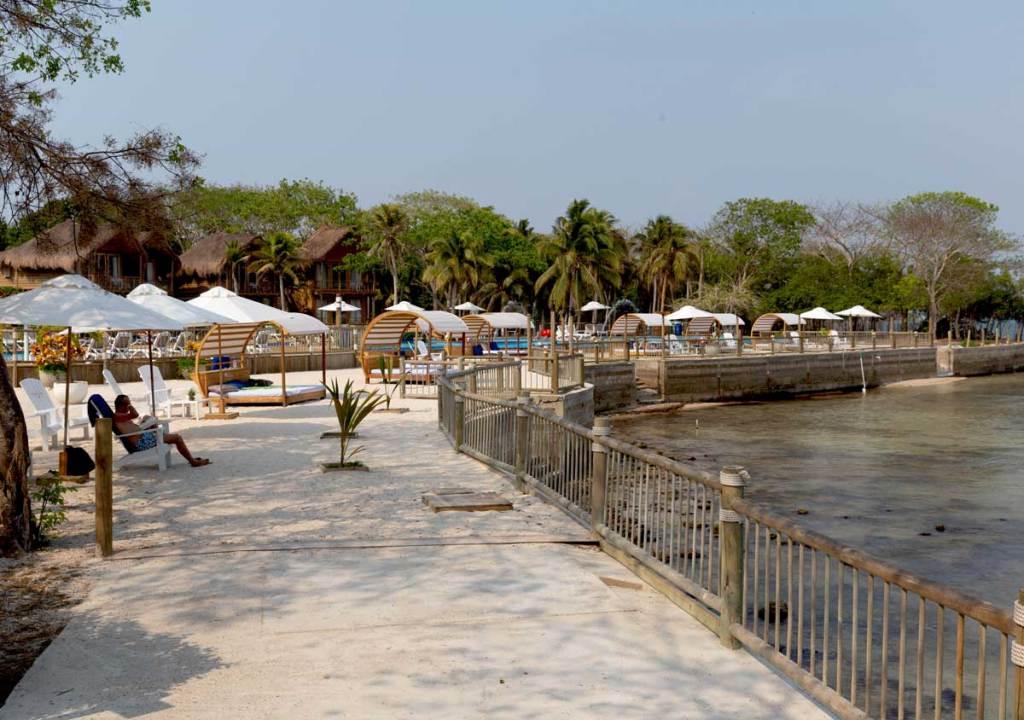 o que fazer Cartagena Colombia islas rosario isla del encanto