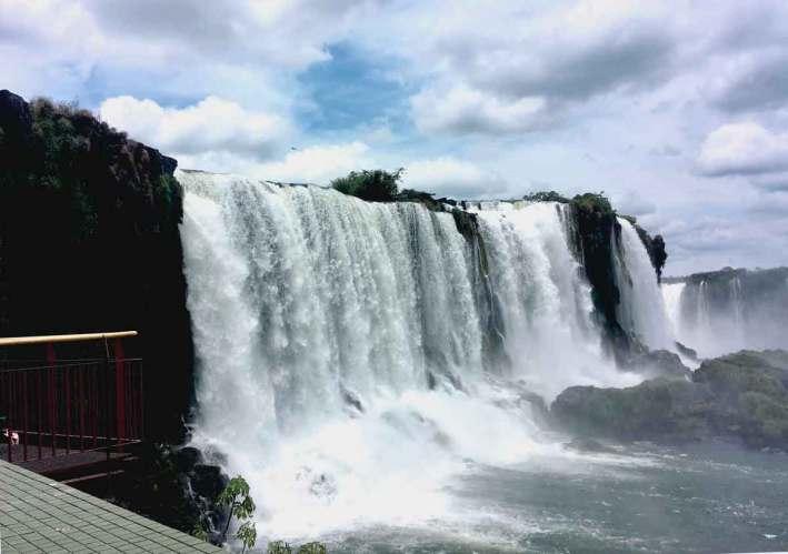 parque da cataratas do Iguaçu
