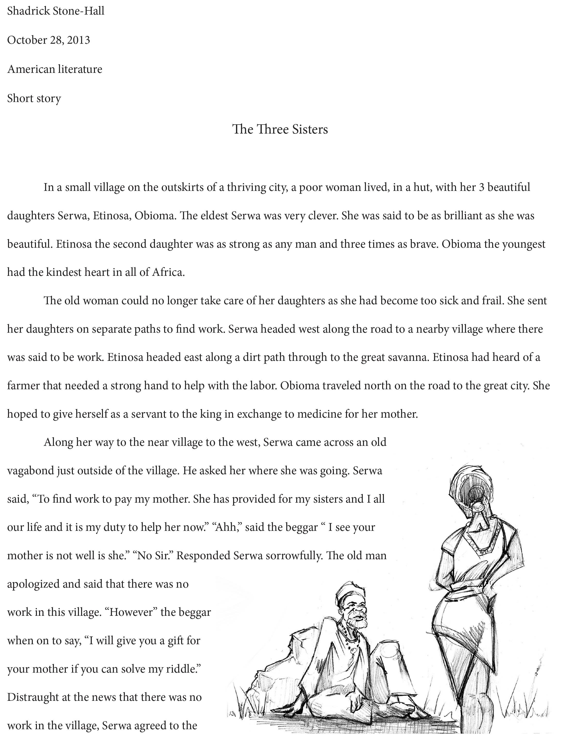 Creative students write too! Short Story and Illustrations ...