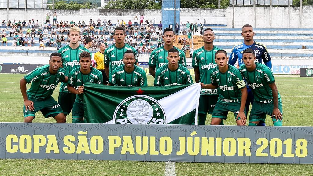 Palmeiras faz 7 a 0 no Taubaté e se classifica para as oitavas da Copinha