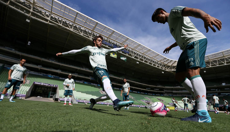 Lucas Lima comemora estreia pelo Palmeiras e alfineta: 'As pessoas falam demais'