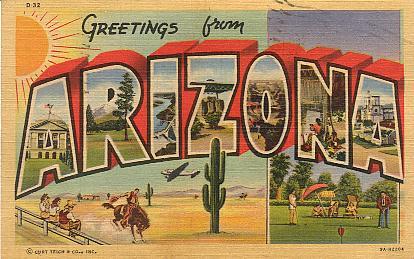 AZ Postcard