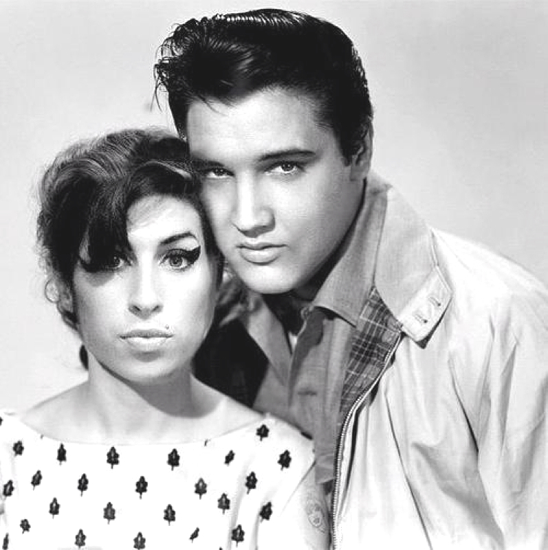 Image result for Amy Winehouse Elvis Presley
