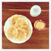 Sündenfreie Joghurtwaffeln zum Sonntagskaffee