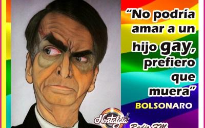 BOLSONARO…HOMOFÒBICO Y MISÒGINO RUMBO AL PRIMER CARGO EN BRASIL