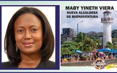 MABY YINETH VIERA NUEVA ALCALDESA DE BUENAVENTURA