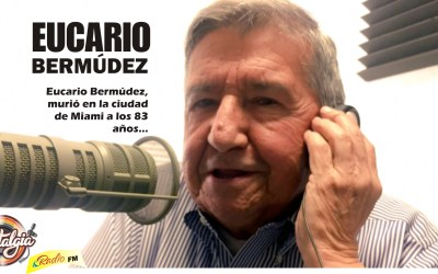 SE NOS FUE EL MAESTRO DEL MICRÓFONO Y LA MÚSICA COLOMBIANA …EUCARIO BERMÙDEZ