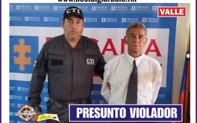 CAPTURADO EN SEVILLA PRESUNTO VIOLADOR
