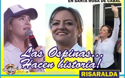 EN SANTA ROSA DE CABAL, ANA CONSTANZA Y JULIANA…LAS OSPINAS HISTÓRICAS!