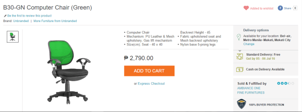 Lazada_Computer_Office_Chair