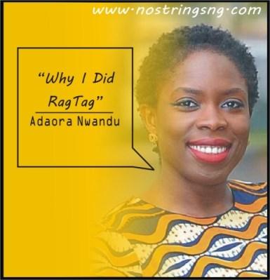 Why I did ragtag