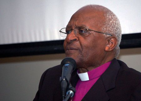 Archbishop Desmond Tutu, who formerly led the Anglican Church of Southern Africa, has long been a supporter of LGBTI rights. (Photo via WikiCommons Media)