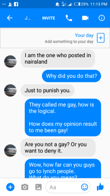 Nigerians bible research leads to anti gay death threat okeremba who posts on nairaland under the name ochongoloko has spoken to nostringsng in the past he says he is a medical professional from lagos stopboris Image collections