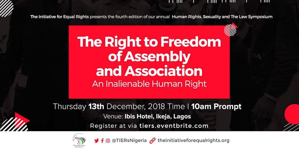 Plan to attend: Nigerian conference on rights, sexuality, law
