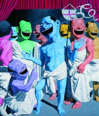 The Resurrection, huile sur toile, 390×330 cm, 2010
