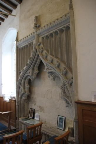 Mémorial de John Hawkwood, église Saint-Pierre, Sible Hedingham (Photo : Peter Josse)