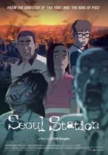SEOUL STATION (Yeon Sang-ho, 2016) - une zombie apocalypse oblige un petit ami indigne et un père à retrouver une fille au milieu de la panique générale